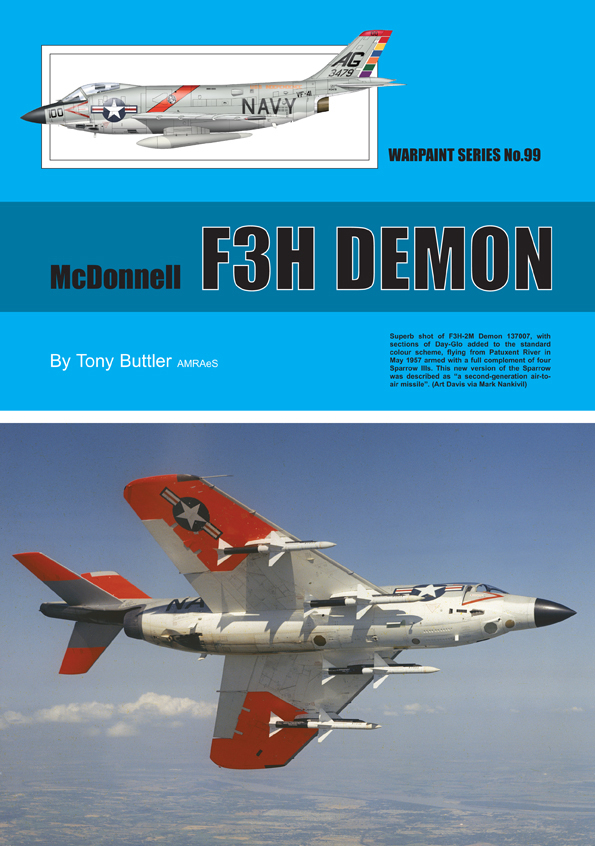 Guideline Publications No 99 McDonnell F3H Demon No. 99  in the Warpaint series