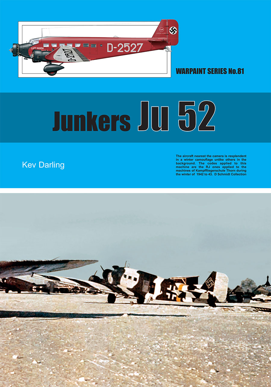 Guideline Publications No 81 Junkers JU 52 AUTHOR: Darling, K